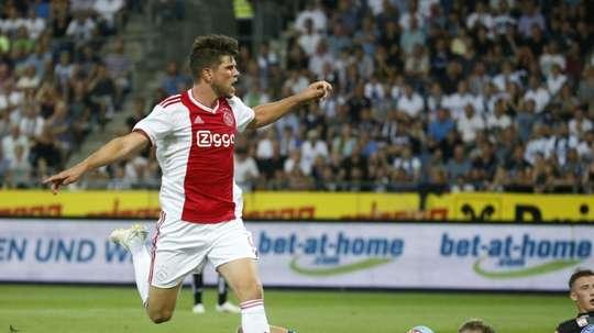 Klaas-Jan Huntelaar scored in the game. AFP