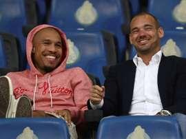 Sneijder envisage de sortir de sa retraite pour Utrecht. AFP