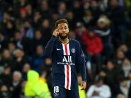 Neymar vuole restare a Parigi. AFP