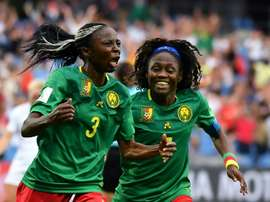 Ajara Nchout envoie le Cameroun en 8e à la dernière seconde. AFP