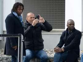 Diomede reclama más presencia de los jóvenes en Francia. AFP