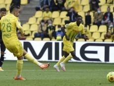 Nantes se fait peur mais l'emporte. AFP