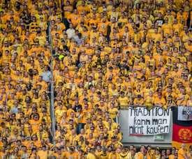 La afición del Dynamo es de las más fieles de Europa. AFP/Archivo