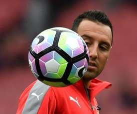 Cazorla está de saída do Arsenal. EFE