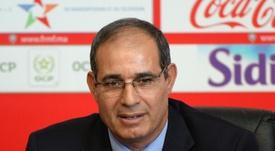 El marroquí dirigirá al equipo argelino. AFP