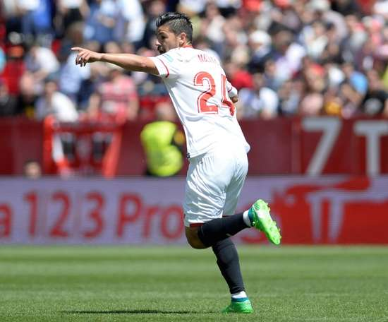 Le Celta veut Nolito, mais Séville s'y oppose. EFE