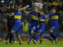 Boca Juniors deja escapar a Cristian Erbes. AFP