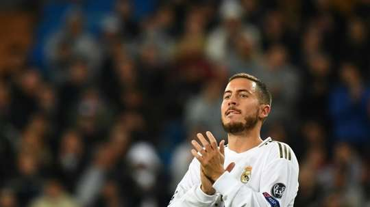 Hazard is integral for Madrid this year. AFP