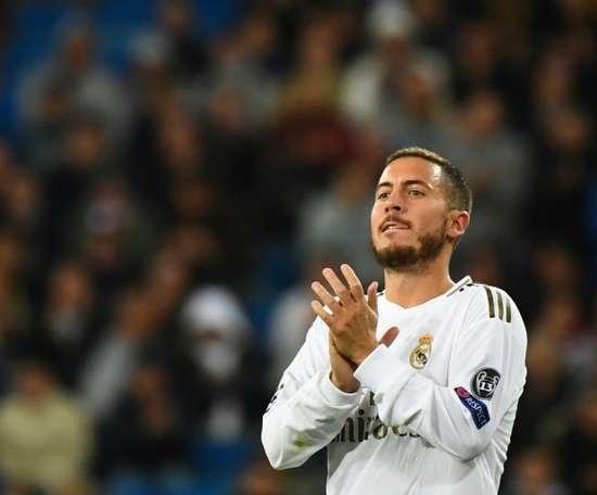 Hazard, una de las novedades de Zidane. AFP