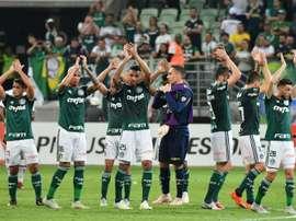 Palmeiras conserve le leadership. AFP