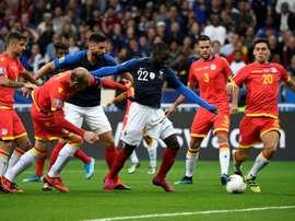 Ikoné forfait contre la Suisse. AFP