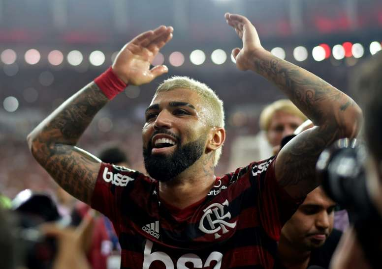 Flamengo da en el clavo con su última oferta por Gabigol. AFP