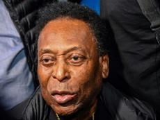 Pelé, le dernier dieu vivant du football. AFP