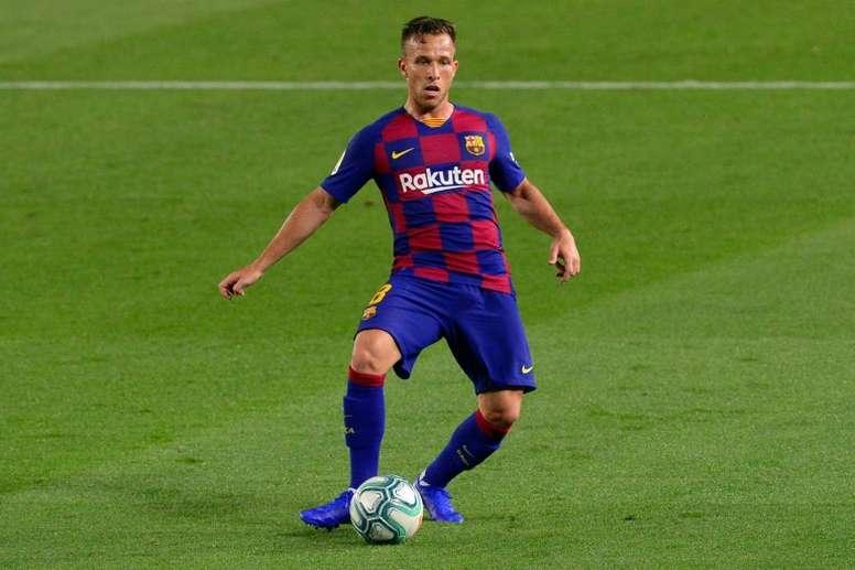 Arthur e sua situação no Barça. AFP