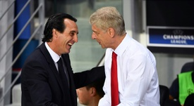 Emery has worse numbers than Wenger. AFP