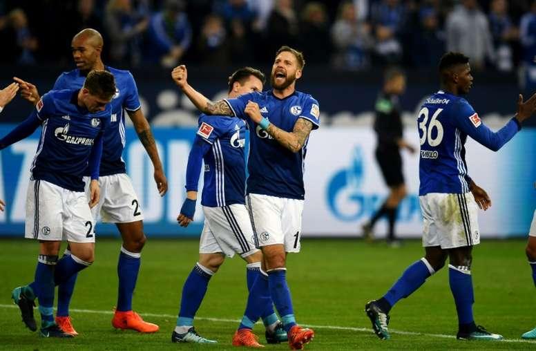El Schalke 04 recibe al Köln en la DFB Pokal. AFP