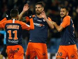Les compos probables du match de Ligue 1 entre Lille et Montpellier. AFP