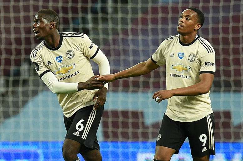 Pogba's future at Man Utd remains unclear. AFP