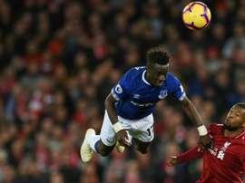 Les compos probables du match de Premier League entre Everton et Liverpool. AFP