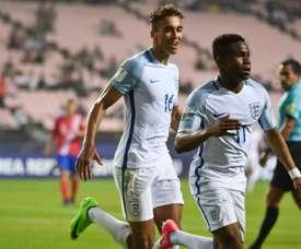 Lookman has declared his allegiance for England. AFP
