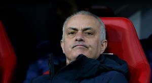 José Mourinho comentou os impactos do coronavírus nos negócios do futebol. AFP