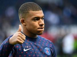 Mbappe hinted at a possible PSG departure if he does not get more responsability. AFP