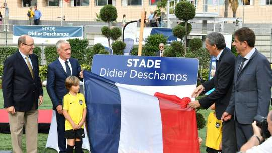 Deschamps now has two stadia named after him. AFP