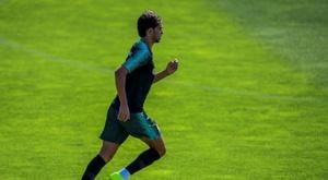João Félix, sem pressa com Portugal. AFP