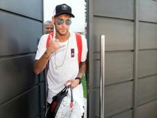 Triste record pour Neymar. AFP