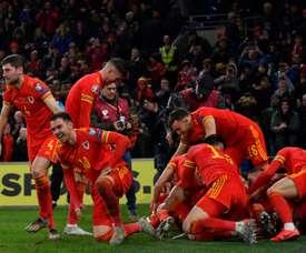 Le Pays de Galles, 20e nation qualifiée pour l'Euro 2020. AFP