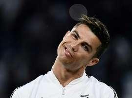 Bentancur ha parlato di Ronaldo. AFP