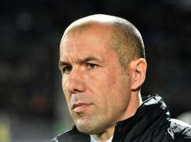 Leonardo Jardim est déçu de l'élimination du PSG. AFP