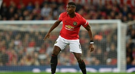 Pogba's renewal divides the English press. AFP