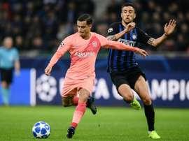Coutinho de retour à l'Inter Milan sept ans après ? AFP