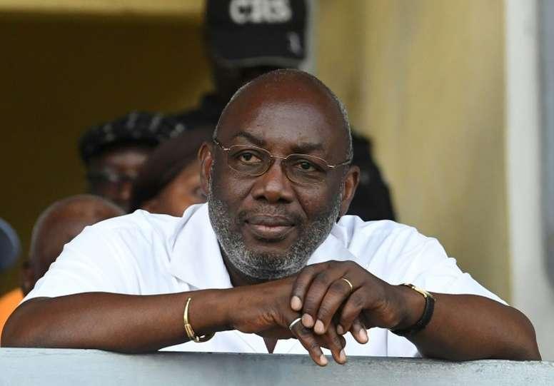 Décès du président de la fédération ivoirienne de football. AFP