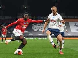 Pogba titulaire pour la première fois depuis 9 mois. AFP