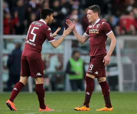 Andrea Belotti is set to continue playing for Torino until 2022. AFP