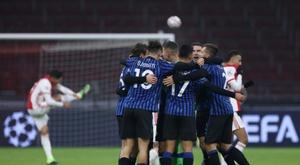 L'Atalanta dompte l'Ajax et s'invite encore en 8es. dugout