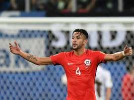 El chileno tenía ofertas desde Sudamérica. AFP