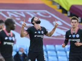 Lampard impressionné par le professionnalisme de Giroud. AFP