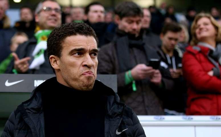 Ismaël nouvel entraîneur du vice-champion Linz. AFP