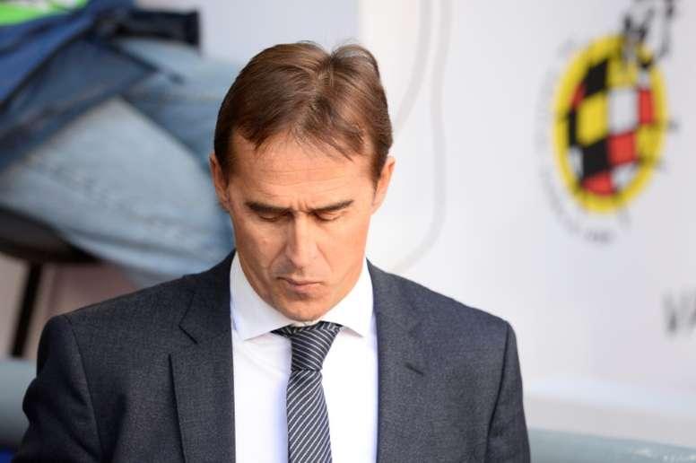 Julen Lopetegui analizó su salida del Madrid. AFP/Archivo