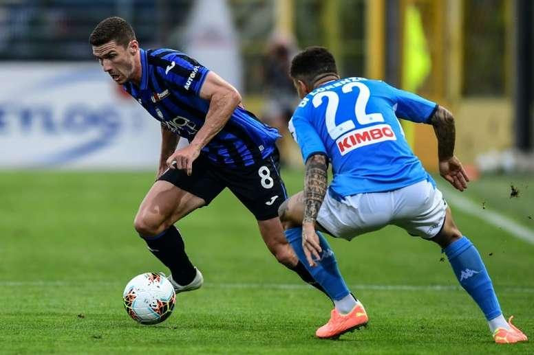 L'Atalanta batte il Napoli. AFP