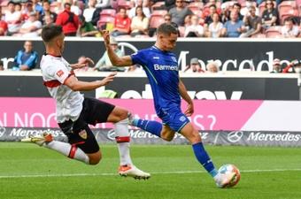 Florian Wirtz, objetivo del Bayern de Múnich. AFP