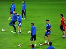 La sélection s'abreuve moins au FC Andorra de Gerard Piqué. AFP
