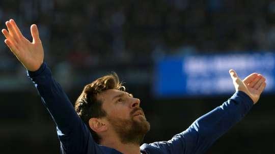 Messi est l'histoire vivante des 'Clasicos'. AFP