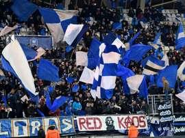 Grenoble revient à deux points du Paris FC. AFP