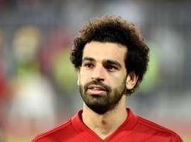 Salah aparece en el horizonte de Mourinho. AFP