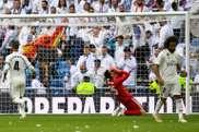 El Madrid no levanta cabeza. AFP