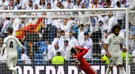 El Madrid cayó ante el Levante. AFP